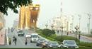 Đoàn xe của Tổng thống Nga trên đường phố Đà Nẵng