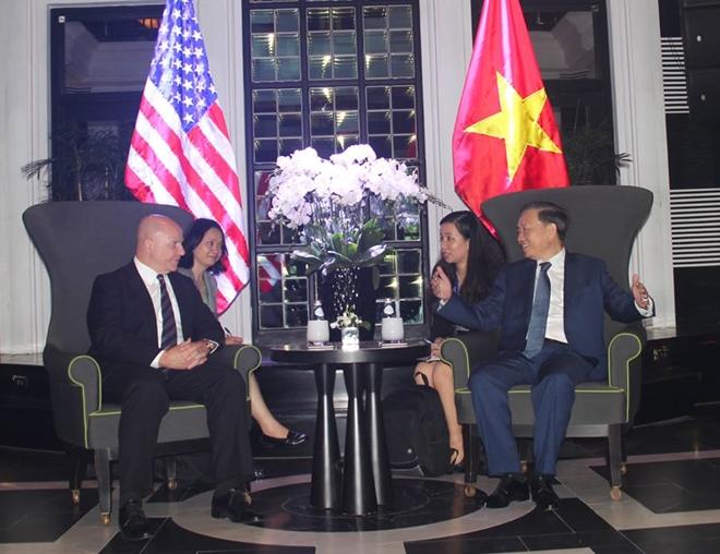Bộ trưởng Tô Lâm tiếp xã giao Cố vấn an ninh quốc gia Hoa Kỳ H.R.McMaster - Ảnh minh hoạ 2