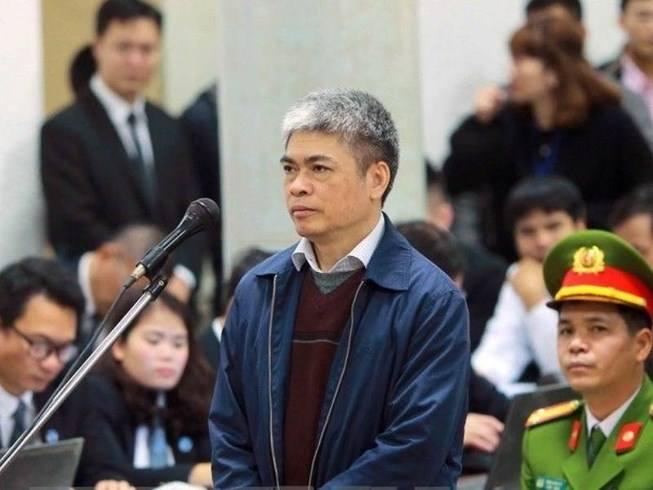 Bị cáo Nguyễn Xuân Sơn, cựu Phó Tổng Giám đốc PVN