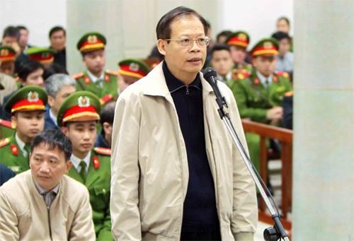Bị cáo Phùng Đình Thực - cựu Tổng Giám đốc PVN tại phiên tòa