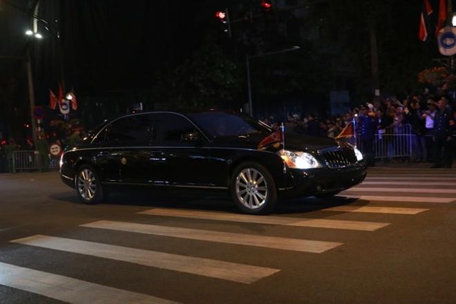 Đoàn xe của Chủ tịch Kim Jong-un rời khách sạn Melia