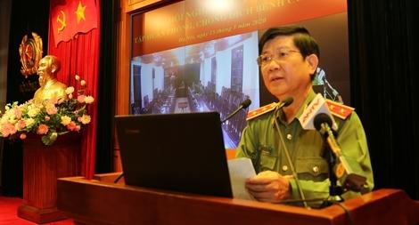 Bộ Công an tập huấn công tác phòng, chống dịch bệnh COVID-19