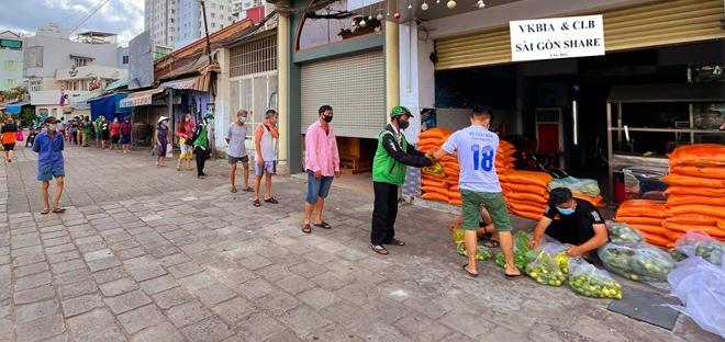 """VKBIA và """"Saigon Share"""" tiếp tục chung tay phòng chống dịch  tại TP Hồ Chí Minh"""