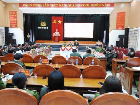 Cụm thi đua số 5, Bộ Công an hoàn thành xuất sắc nhiệm vụ
