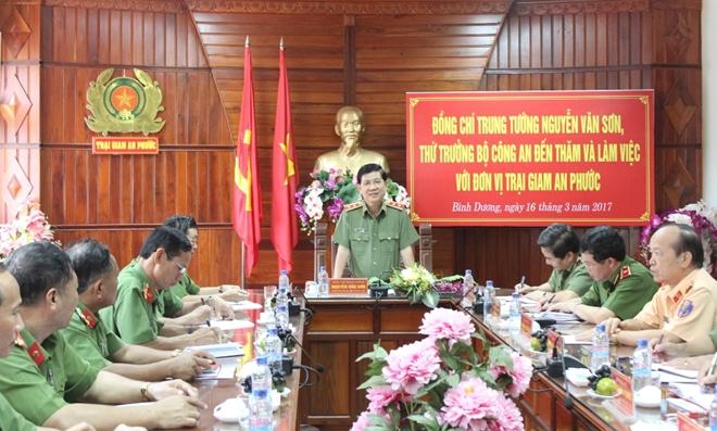 Thứ trưởng Nguyễn Văn Sơn làm việc với Trại giam An Phước - Ảnh minh hoạ 2