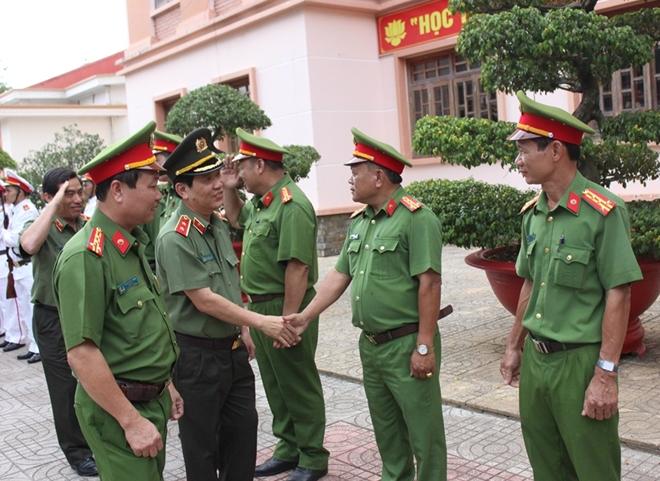 Thứ trưởng Nguyễn Văn Sơn làm việc với Trại giam An Phước