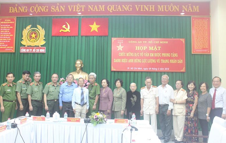 Công an TP Hồ Chí Minh vinh danh Anh hùng LLVTND Võ Văn Em