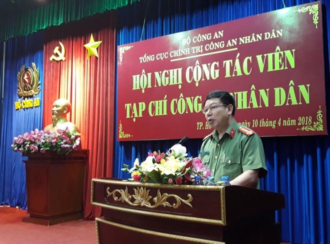 Hội nghị Cộng tác viên Tạp chí Công an nhân dân phía Nam