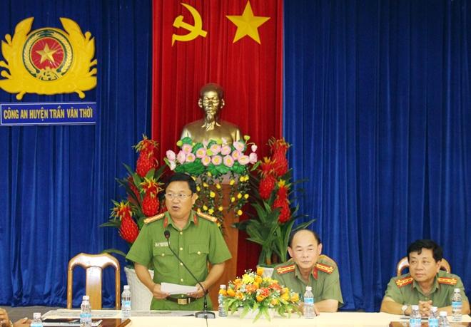 Báo CAND giao lưu với Công an huyện Trần Văn Thời - Ảnh minh hoạ 2