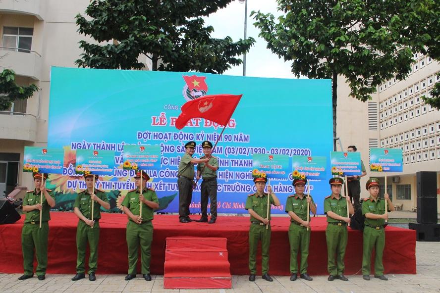 Tuổi trẻ Công an TP Hồ Chí Minh sắt son niềm tin với Đảng