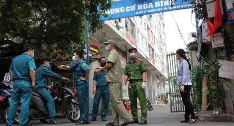 Công an TP Hồ Chí Minh đảm bảo an ninh, trật tự tại các khu vực cách ly