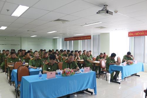 Tập huấn nghiệp vụ quản lý nhà nước và công tác tuyên truyền về PCCC&CNCH