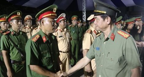 Công an TP Hồ Chí Minh tổ chức Lễ ra quân tấn công trấn áp tội phạm