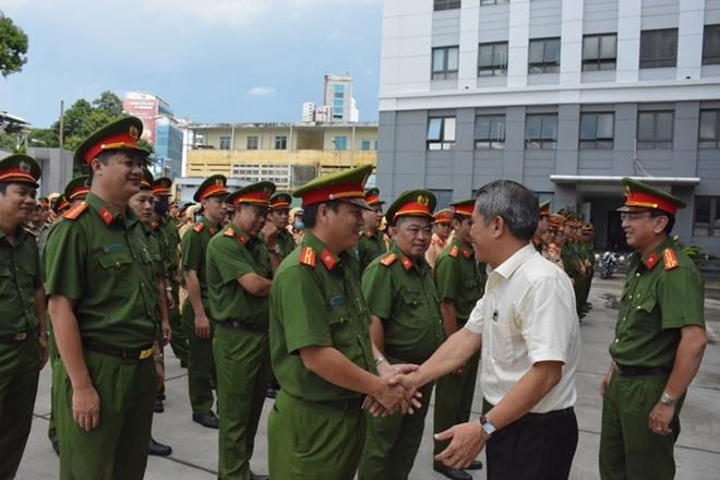 Công an Quận 3 ra quân đảm bảo an toàn tuyệt đối ĐH Đảng bộ TP Hồ Chí Minh - Ảnh minh hoạ 2