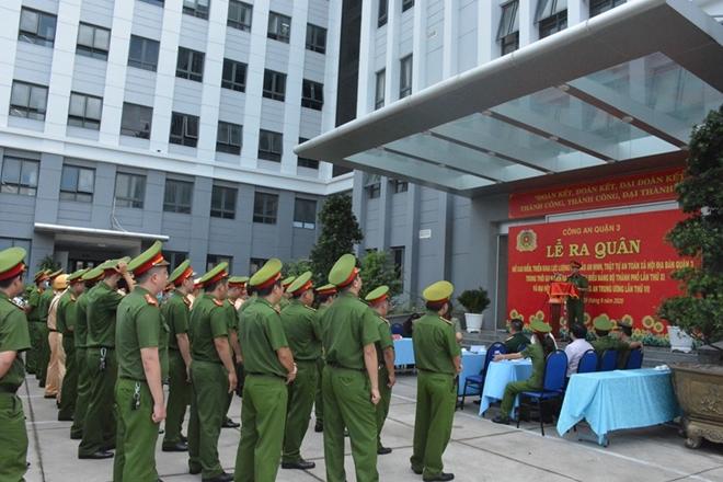 Công an Quận 3 ra quân đảm bảo an toàn tuyệt đối ĐH Đảng bộ TP Hồ Chí Minh - Ảnh minh hoạ 4