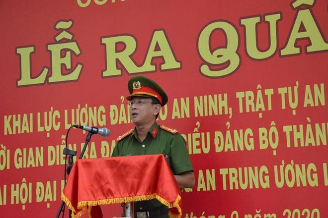 Công an Quận 3 ra quân đảm bảo an toàn tuyệt đối ĐH Đảng bộ TP Hồ Chí Minh