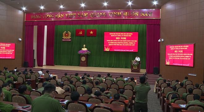 Xây dựng lực lượng Công an TP Hồ Chí Minh ngày càng trong sạch, vững mạnh