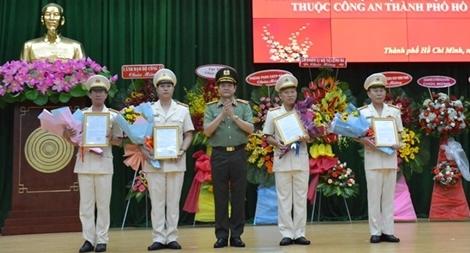 Công an TPHCM ra mắt Phòng An ninh mạng và phòng, chống tội phạm công nghệ cao