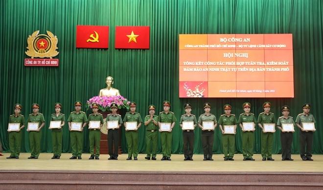 Công an TP Hồ Chí Minh phát huy hiệu quả tuần tra, kiểm soát đảm bảo ANTT - Ảnh minh hoạ 2