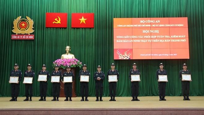 Công an TP Hồ Chí Minh phát huy hiệu quả tuần tra, kiểm soát đảm bảo ANTT