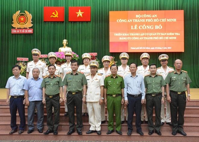 Thành lập Cơ quan Ủy ban Kiểm tra Đảng ủy Công an TP Hồ Chí Minh - Ảnh minh hoạ 2
