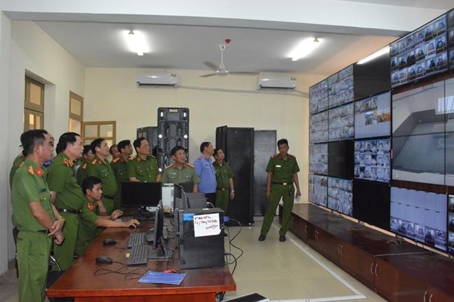 Thứ trưởng Lê Quốc Hùng kiểm tra tình hình thực hiện dự án trại tạm giam - Ảnh minh hoạ 2
