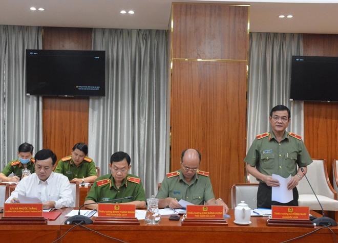 Thứ trưởng Lê Quốc Hùng làm việc với Công an TP Hồ Chí Minh - Ảnh minh hoạ 2