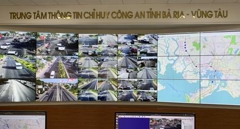 Khai trương hệ thống giám sát tự động bằng camera ở Bà Rịa - Vũng Tàu