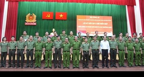 Công an TP Hồ Chí Minh ký kết phối hợp với ba trường CAND