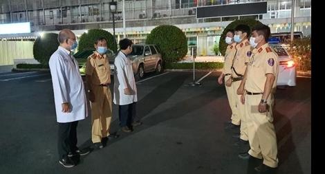 Thầy thuốc và Công an đồng hành cứu người ghép tạng