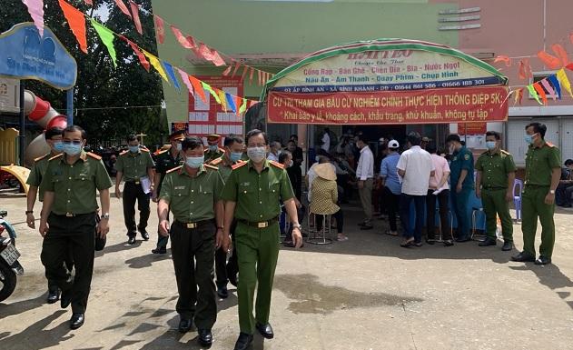Công an TP Hồ Chí Minh đảm bảo tuyệt đối an toàn bầu cử - Ảnh minh hoạ 2