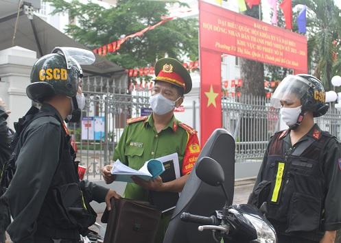 Công an TP Hồ Chí Minh đảm bảo tuyệt đối an toàn bầu cử - Ảnh minh hoạ 3