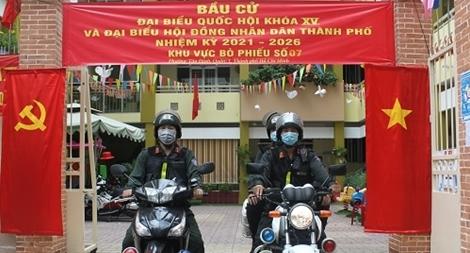 Công an TP Hồ Chí Minh đảm bảo tuyệt đối an toàn bầu cử