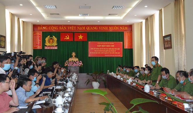 Phát động Cuộc thi giải Búa liềm vàng trong Công an TP Hồ Chí Minh
