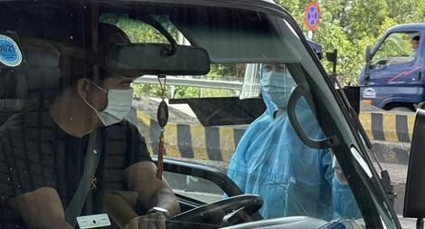 Công an TP Hồ Chí Minh triển khai cao điểm kiểm soát tình hình dịch COVID-19