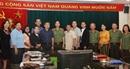 Đoàn đại biểu Bộ Thông tin, Văn hoá và Du lịch Lào thăm, làm việc tại Báo CAND