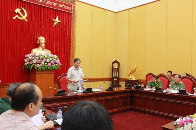 Bộ Công an họp Ban soạn thảo, Tổ biên tập dự án Luật An ninh mạng - Ảnh minh hoạ 6
