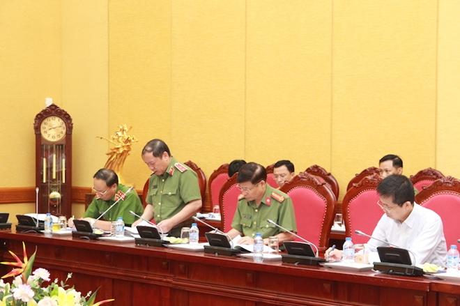 Bộ Công an họp Ban soạn thảo, Tổ biên tập dự án Luật An ninh mạng - Ảnh minh hoạ 3