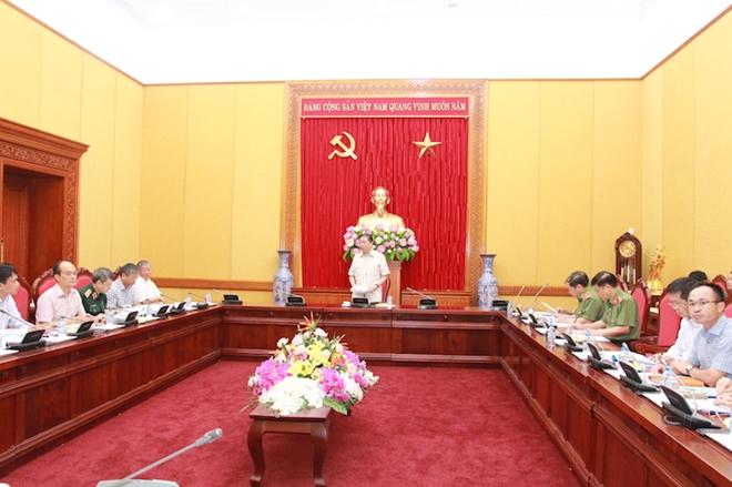 Bộ Công an họp Ban soạn thảo, Tổ biên tập dự án Luật An ninh mạng