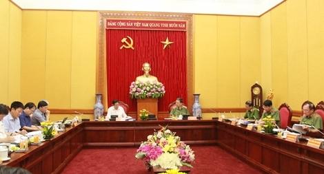 Sớm kiện toàn Đảng uỷ Công an Trung ương phù hợp với mô hình tổ chức mới