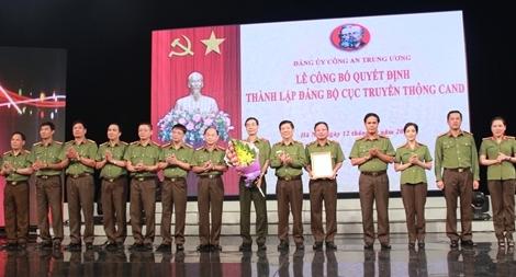 Công bố thành lập Đảng bộ Cục Truyền thông CAND