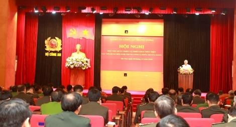 Đảng uỷ Công an Trung ương học tập, quán triệt các nội dung Hội nghị Trung ương 8