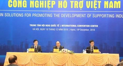 Thủ tướng chủ trì Hội nghị bàn giải pháp phát triển công nghiệp hỗ trợ