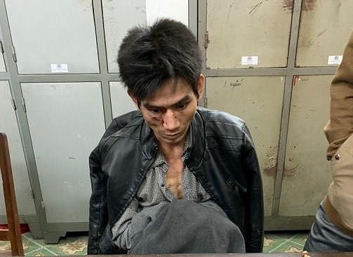 La Văn Tao khi bị bắt giữ.