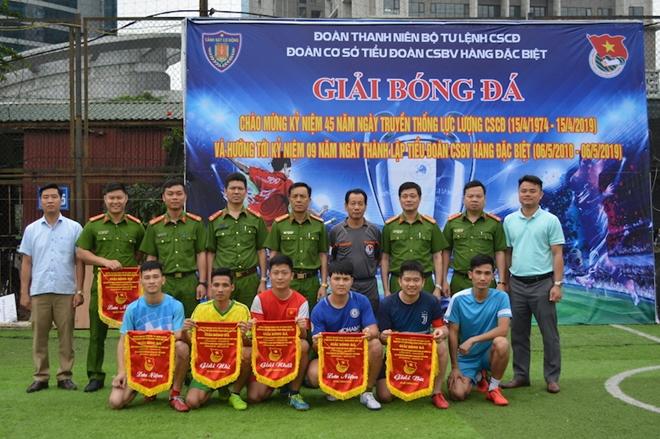 Tiểu đoàn Cảnh sát bảo vệ hàng đặc biệt tổ chức Giải bóng đá - Ảnh minh hoạ 2