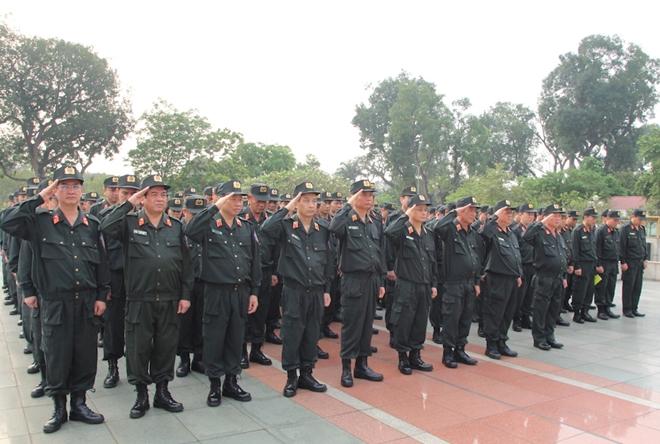Bộ Tư lệnh Cảnh sát cơ động báo công dâng Bác - Ảnh minh hoạ 2