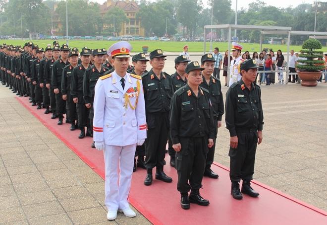 Bộ Tư lệnh Cảnh sát cơ động báo công dâng Bác - Ảnh minh hoạ 7