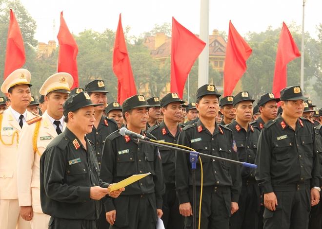 Bộ Tư lệnh Cảnh sát cơ động báo công dâng Bác - Ảnh minh hoạ 4