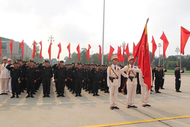 Bộ Tư lệnh Cảnh sát cơ động báo công dâng Bác - Ảnh minh hoạ 3
