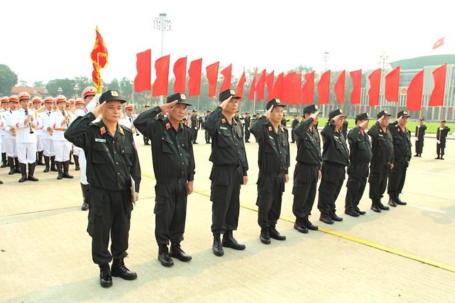 Bộ Tư lệnh Cảnh sát cơ động báo công dâng Bác - Ảnh minh hoạ 5